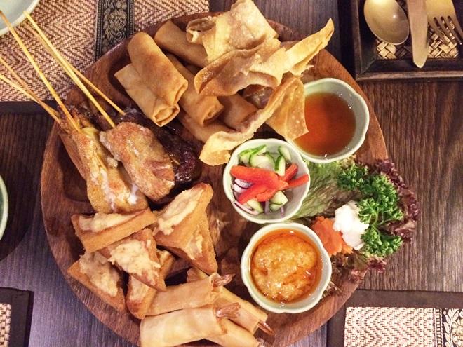 Nakron Thai Restaurant Vorspeise Kassel Fräulein Wirbelwind